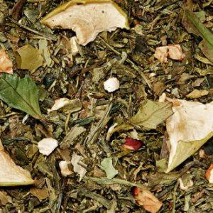 Thé vert gingembre pomme boutique Histoires de thés à Cosne-sur-Loire 58200