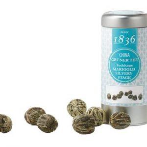 Boules de thé vert Marigold Stage Silvery boutique Histoires de thés à Cosne-sur-Loire 58200