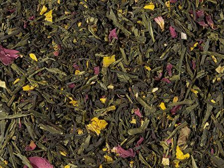 Mélange thé vert thé noir Les 7 trésors de l'Empereur boutique Histoires de thés à Cosne-sur-Loire 58200