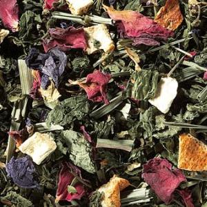 Tisane menthe poivrée et fleurs boutique Histoires de thés à Cosne-su-Loire 58200