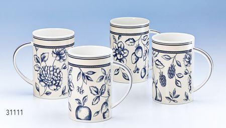 Lot 4 mugs Hilla boutique Histoires de thés à Cosne-sur-Loire 58200