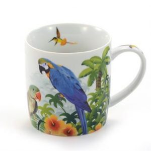 Mug perroquets Lora boutique Histoires de thés à Cosne-sur-Loire 58200