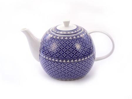 Théière porcelaine bleue Antonie boutique Histoires de thés à Cosne-sur-Loire 58200