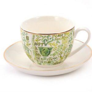 Tasse et soucoupe Ava boutique Histoires de thés à Cosne-sur-Loire 58200