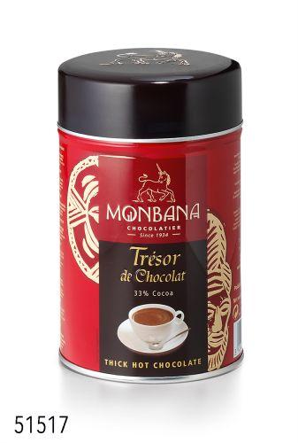 Chocolat en poudre Trésor de chocolat Monbana boutique Histoires de thés à Cosne sur Loire