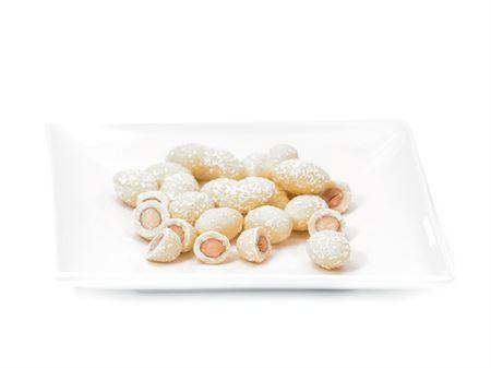 Amandes chocolat blanc coco à croquer boutique Histoires de thés à Cosne-sur-Loire 58200