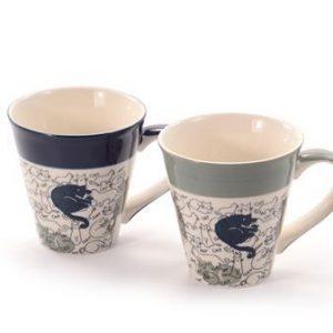 Lot 2 mugs chats Barney boutique Histoires de thés à Cosne-sur-Loire 58200