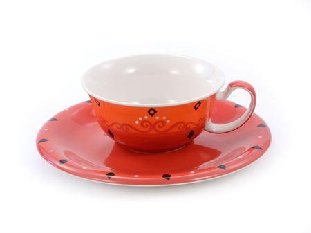 Tasse et soucoupe Nandina céramique boutique Histoires de thés à Cosne-sur-Loire 58200