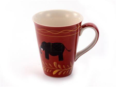 Mug céramique éléphants Benares boutique Histoires de thés à Cosne-sur-Loire 58200