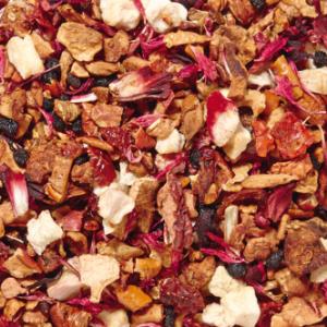 Infusion de fruits Rhubarbe boutique Histoires de thés à Cosne-sur-Loire 58200 Nièvre