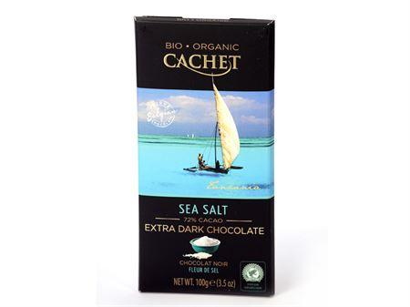 Tablette chocolat noir fleur de sel bio boutique Histoires de Thés à Cosne-sur-Loire 58200