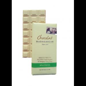 Tablette chocolat blanc Ylang Ylang boutique Histoires de thés à Cosne-sur-Loire 58200