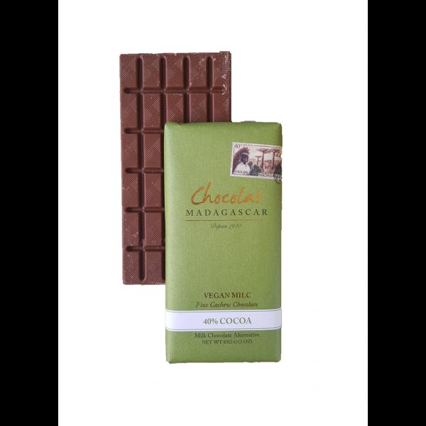 Tablette chocolat au lait végan boutique Histoires de Thés à Cosne-sur-Loire Nièvre 58200