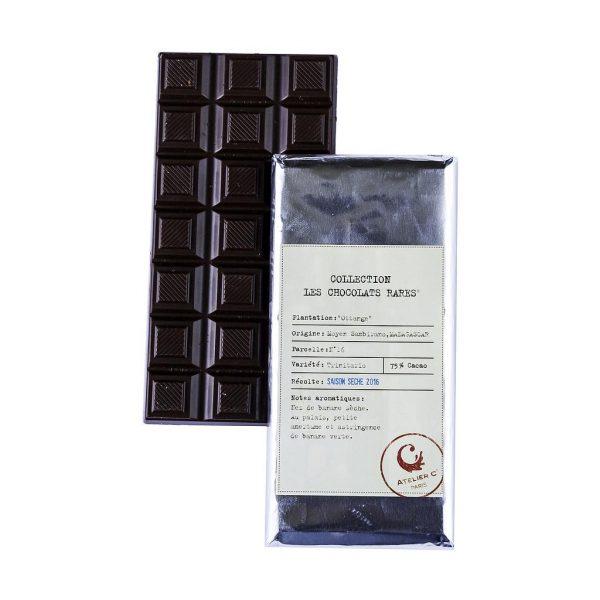 Tablette chocolat noir grand cru Ottange Madagascar boutique Histoires de thés à Cosne-sur-Loire 58200