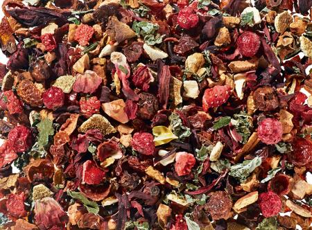 Infusion BIO aux fruits rouges boutique Histoires de thés à Cosne-sur-Loire 58200