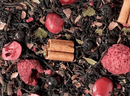 Thé noir myrtille framboise chocolat boutique Histoires de thés à Cosne-sur-Loire