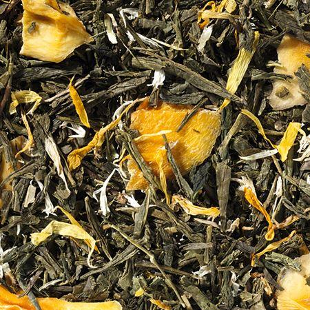 Thé vert mangue mirabelle boutique Histoires de thés à Cosne-sur-Loire 58200