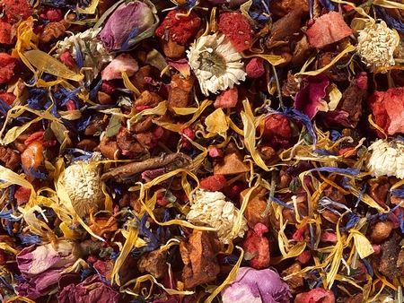 Infusion fleurs fraise boutique Histoires de thés à Cosne-sur-Loire 58200