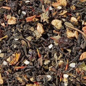 Thé noir Prune Safran boutique Histoires de thés à Cosne 58200