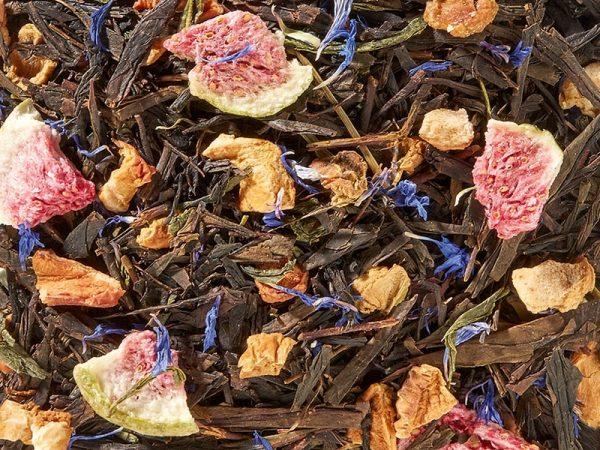 Thé noir et vert à la figue boutique Histoires de thés