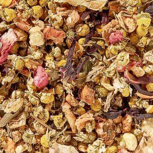 Infusion Grenade Camomille apaisante boutique Histoires de thés à Cosne-sur-Loire