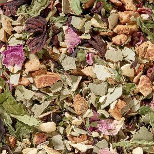 Infusion chanvre eucalyptus rose BIO boutique Histoires de thés