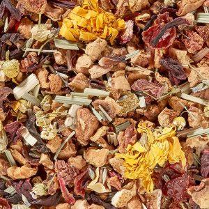Infusion lavande mandarine BIO boutique Histoires de thés à Cosne-sur-Loire