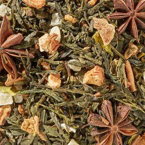 Thé vert Genmaicha glacial boutique Histoires de thés à Cosne