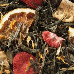 Mélange de thés fraise ananas boutique Histoires de thés