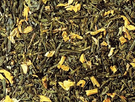 Thé vert Sencha Pêche boutique Histoires de thés