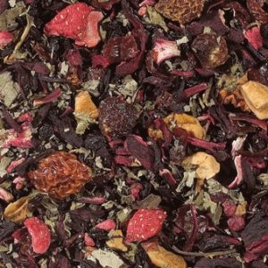 Infusion Fraise Framboise boutique Histoires de thés