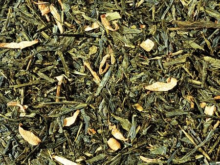 Thé vert Sencha Orange boutique Histoires de thés