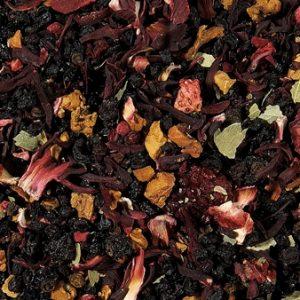 Infusion jardin de mamie fraise boutique Histoires de thés