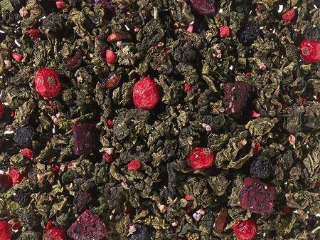 Thé vert semi-fermenté framboise boutique Histoires de thés