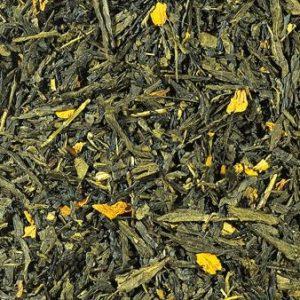 Thé vert Sencha Mangue boutique Histoires de thés